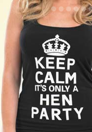 Printed Hen Do T Shirts & Personalised Hen Do Night T Shirts that really are the cheapest.