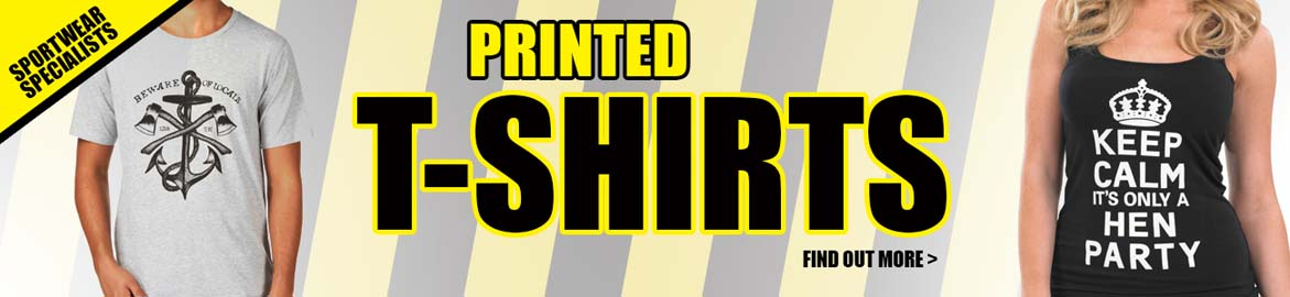 T-Shirts available all year round from Sandycroft Workwear.
